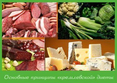 все о кремлёвской диете