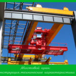 Мостовой кран: конструкция, технические характеристики