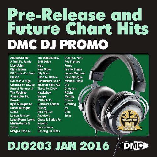 DMC DJ Promo 203 - January (2016)