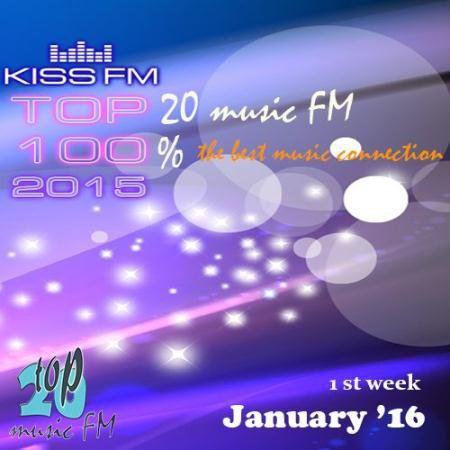 Kiss FM Top 40 January (1st week) (2016)