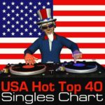 USA Hot Top 40 Singles Chart